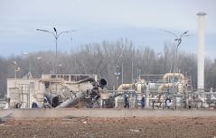 Baumgarten Gasanlage Zerstörung