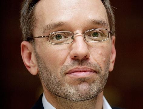 Neuer Innenminister Herbert Kickl
