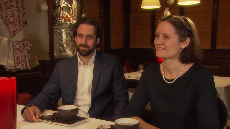 Bernhard Teufel und Simone Vierlinger