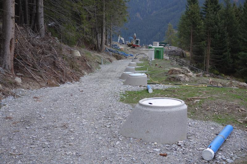 Tiefbrunnen zum Schutz der Kerschbaumsiedlung
