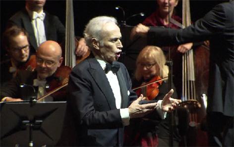 Jose Carreras singt im Festspielhaus
