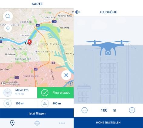 Drohnen App Drone Space