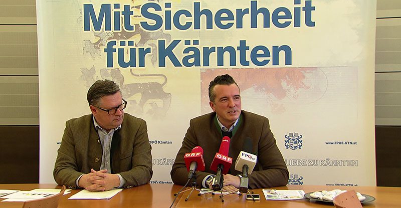 FPÖ Wahlkampf Vorbereitungen
