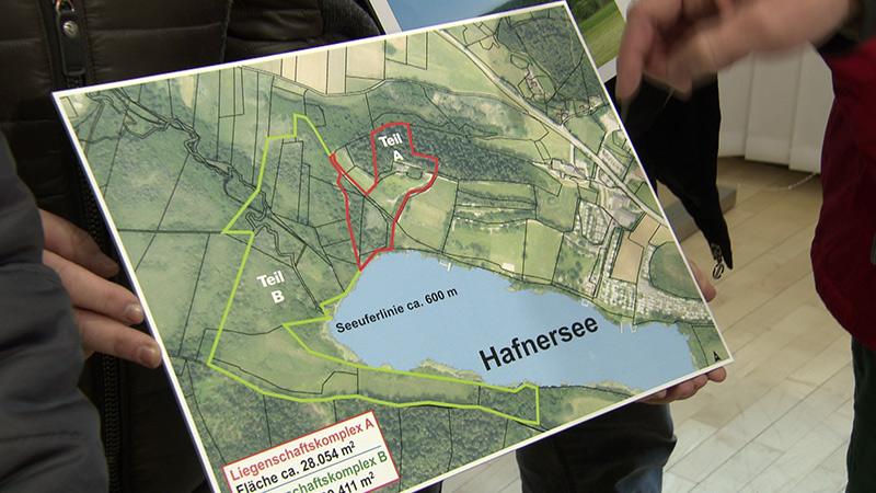 Hafner See Grafik Plan Verkauf Grundstücke Keutschach