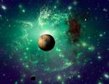 Planeten und Himmel