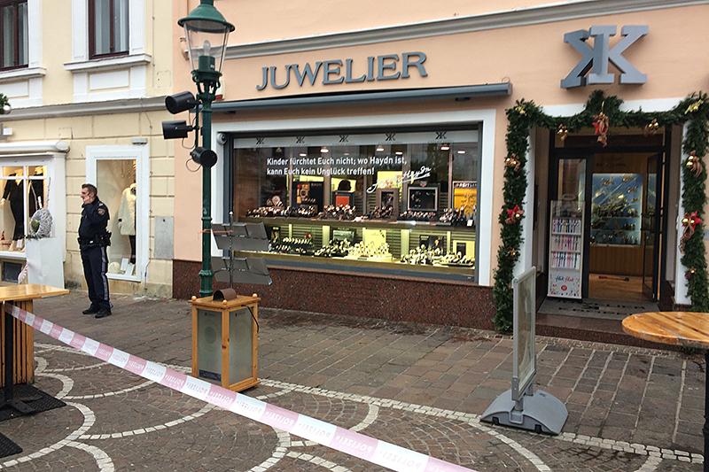 Raubüberfall Juwelier Kröpfl
