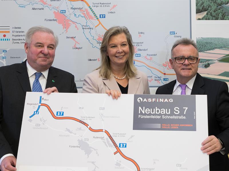 Hermann Schützenhöfer, Karin Zipperer und Hans Niessl