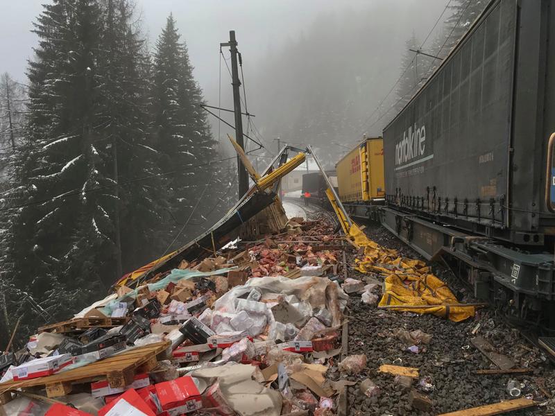 Bahnunfall bei Gries