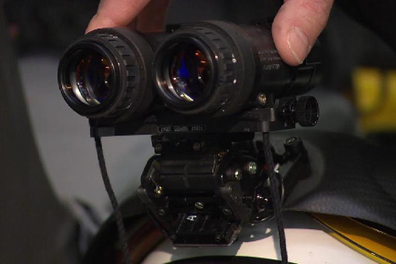 Restlichtverstärkerbrille für Nachtflüge