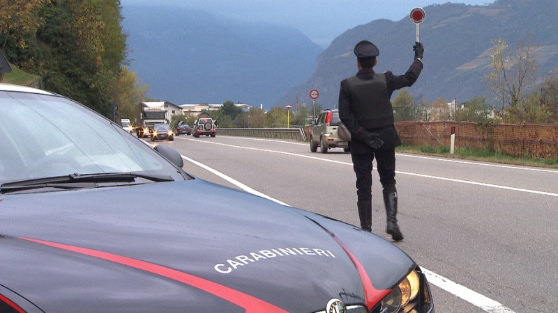 Auf Streife Carabinieri