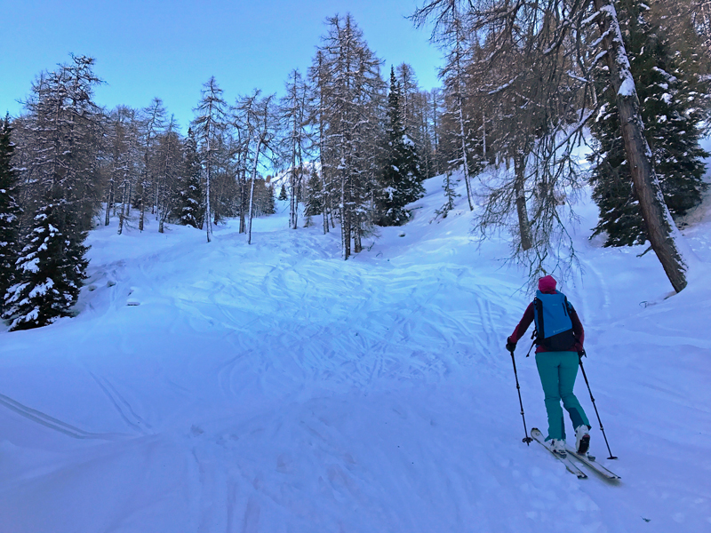 Skitour auf die Ultenspitze