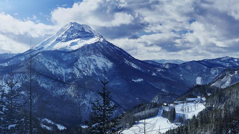 Wintersport Ski fahren Ötscher Lackenhof