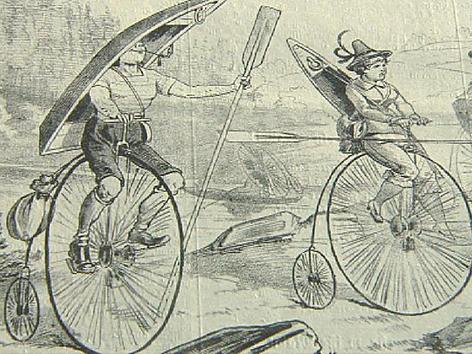 Zeichnung Hochräder