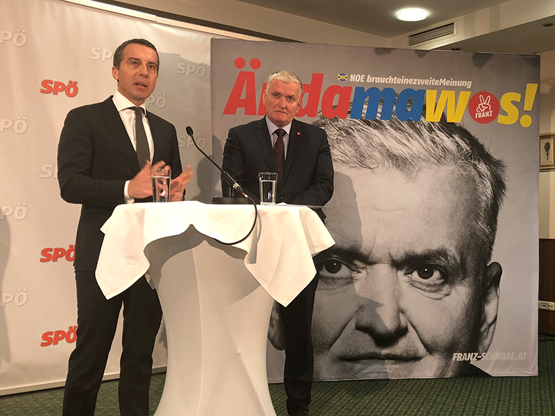 SPÖ Präsidiumsklausur