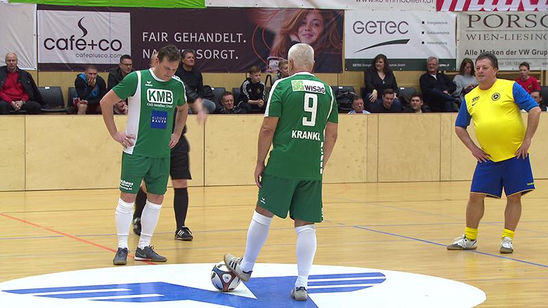 Fußball der Legenden Perchtoldsdorf Sahinovic Charityx