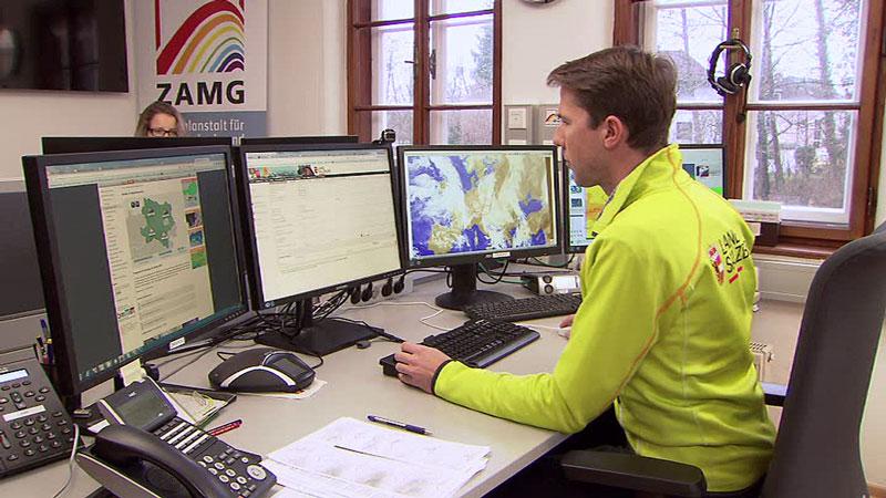 Wetterdienststelle  ZAMG  Michael Butschek