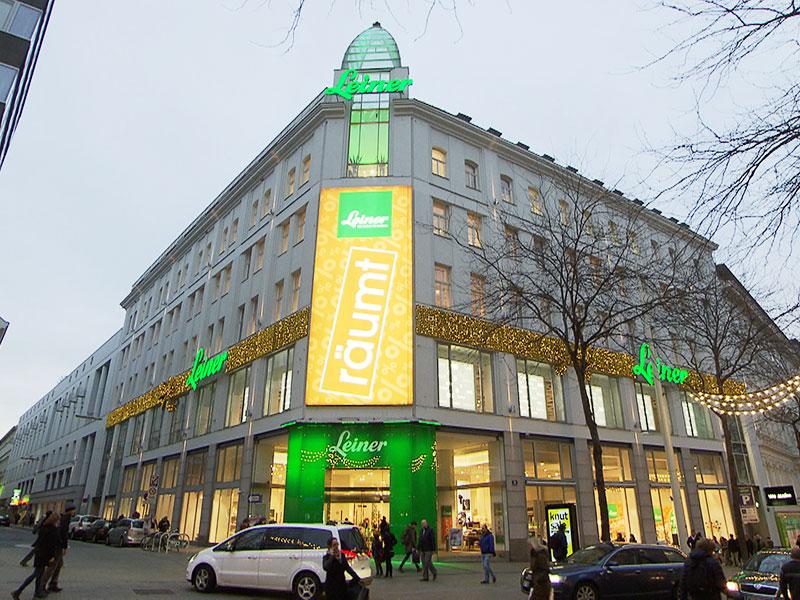 Leiner-Flagshipstore auf der Mariahilfer Straße