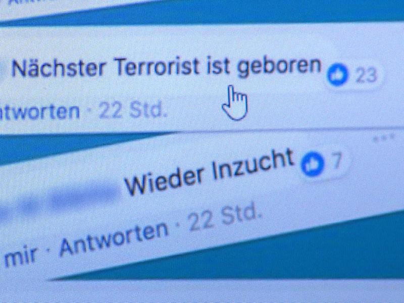 Hasspostings nach Veröffentlichung eines Fotos des Wiener Neujahrsbabys