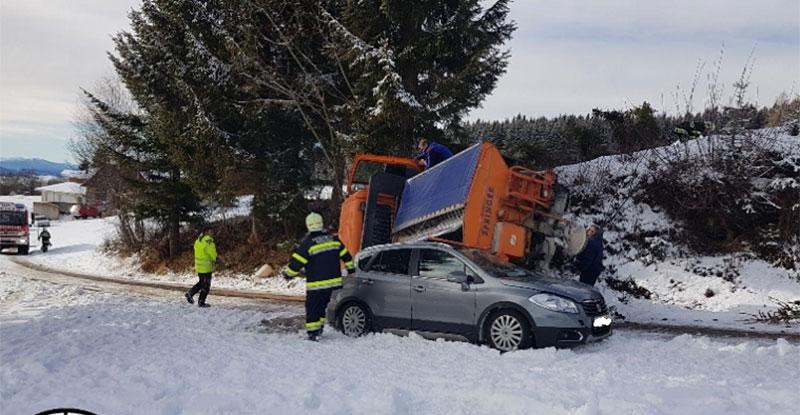 Unfall Friesach Streufahrzeug Schwerverletzter