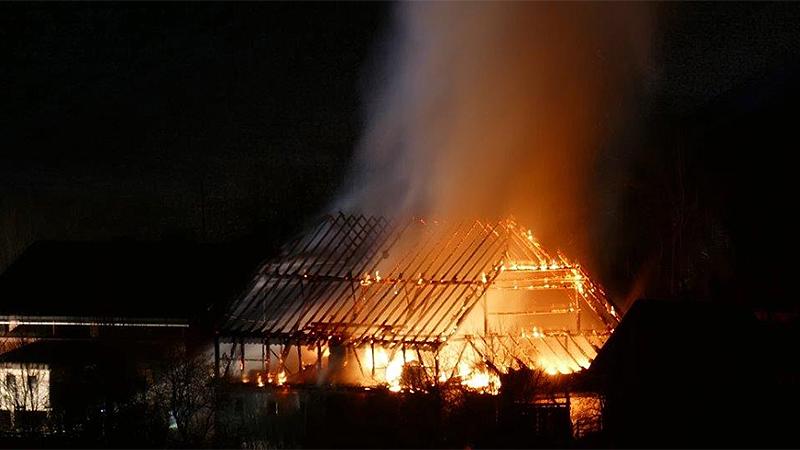 Brand in Frauenberg