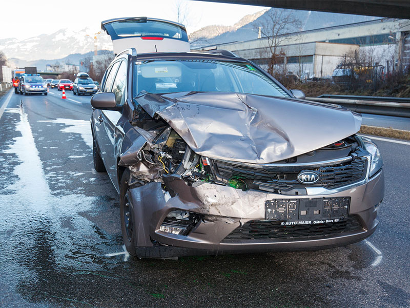 Unfall Walgau-Autobahn