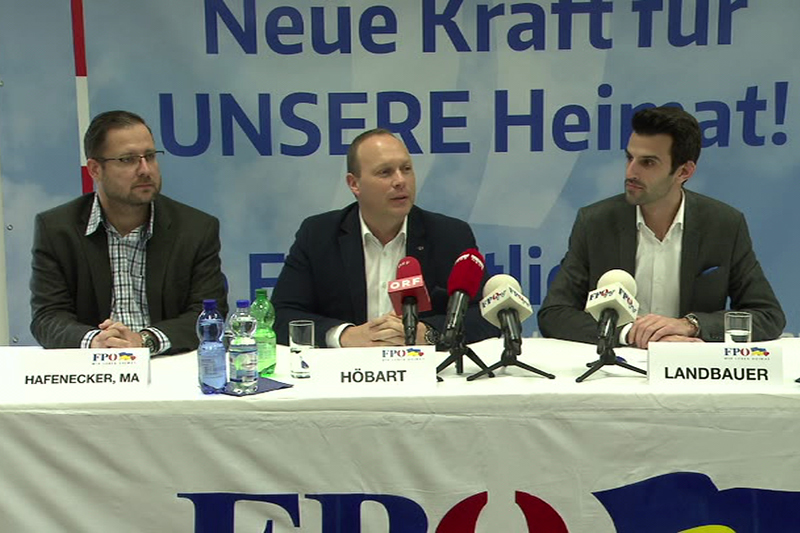 FPÖ Wahlziel Platz 2