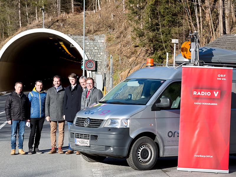Radio im Tunnel