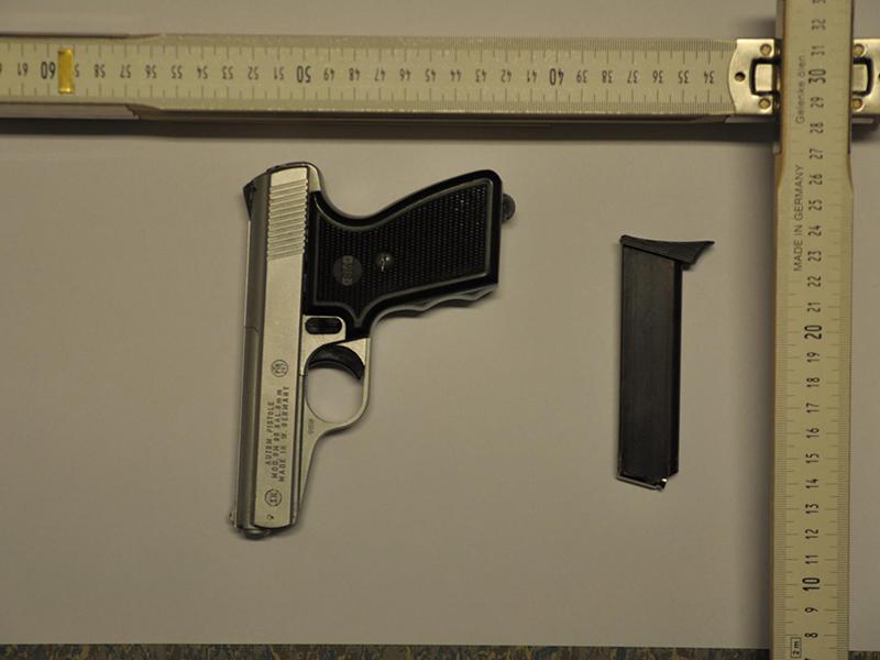 Waffe Bruck an der Leitha Überfall