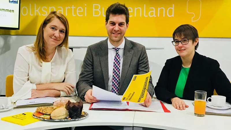 Bettina Eder, Christoph Wolf i Anne Rothleitner-Reinisch