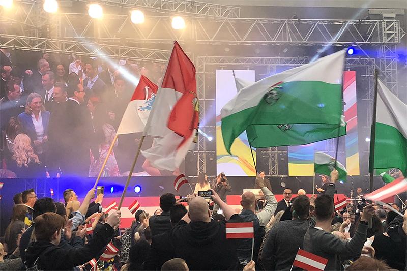 Landtagswahl FPÖ Wahlkampfauftakt Vösendorf