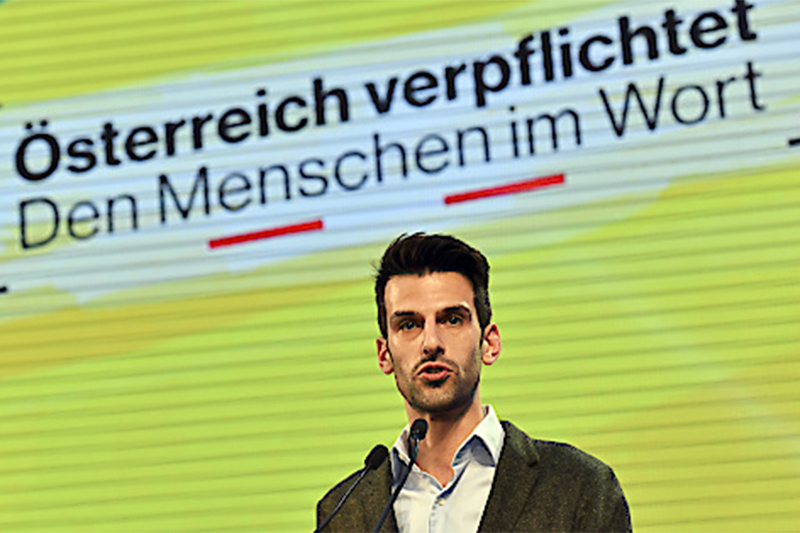 Landtagswahl FPÖ Wahlkampfauftakt Vösendorf Landbauer