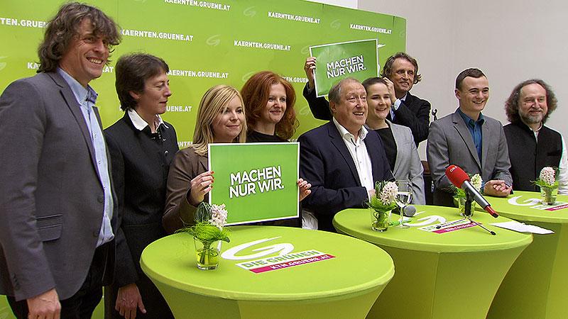 Grüne Gruppe Neujahrsempfang