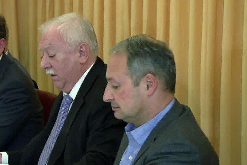 Bürgermeister Michael Häupl und Andreas Schieder