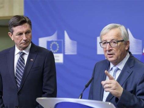 Juncker meja Slovenija Hrvaška problem cele EU