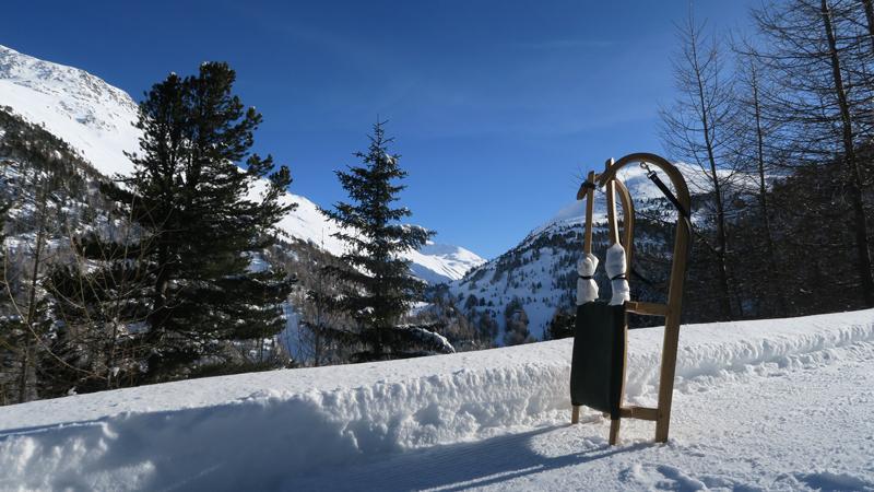 Rodelausflug Lenzenalm im Ötztal