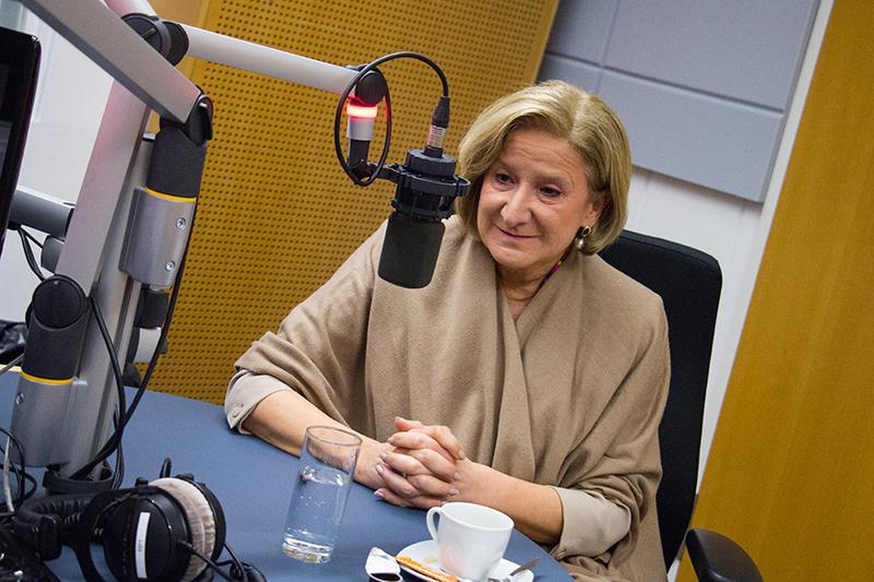 """Johanna Mikl-Leitner im """"Radio Niederösterreich Wahlcafé"""""""