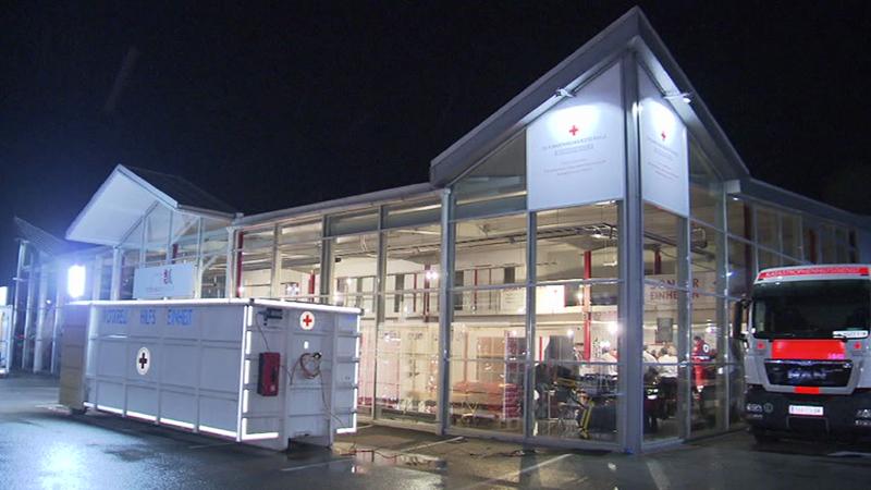 Rotes Kreuz Logistikzentrum Eröffnung Tulln