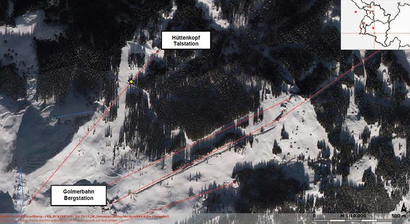 Schwerer Alpinunfall