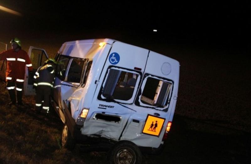 Unfall Schulbus