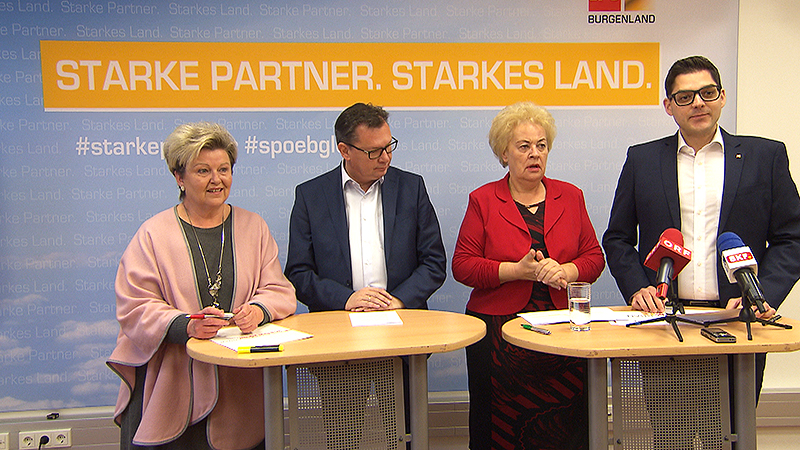 Edith Sack, Norbert Darabos, Verena Dunst, Christian Dax