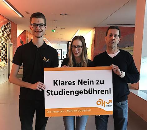 Protest gegen geplante Studiengebühren