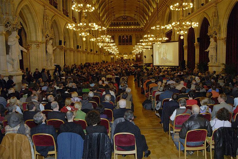 Wiener Vorlesung im Rathaus