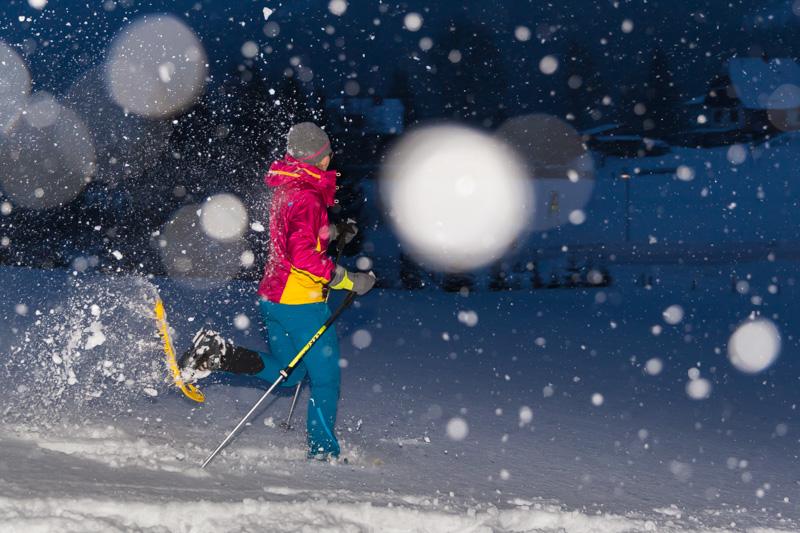 Schneeschuhwandern, Elisabeth Zienitzer