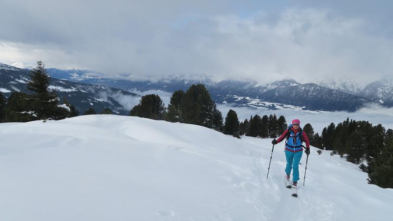 Skitour auf das Nonsjöchl