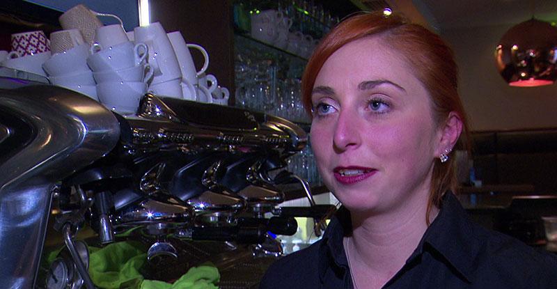 Barista Staatsmeisterin Tamara Nadolph