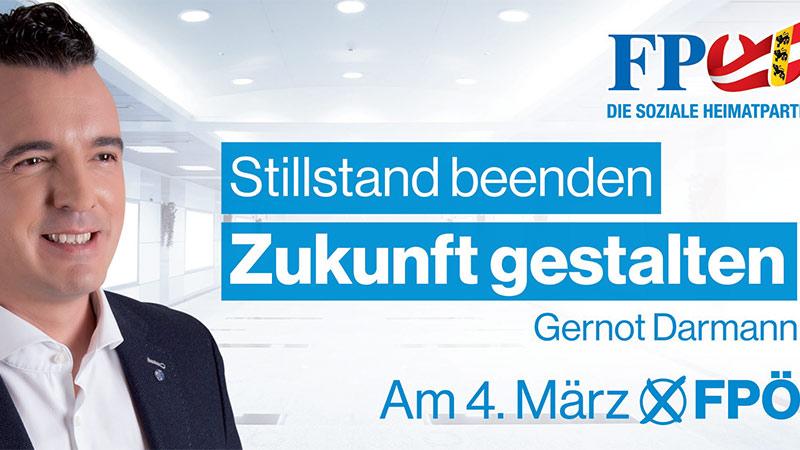 Plakat Darmann Landtagswahl