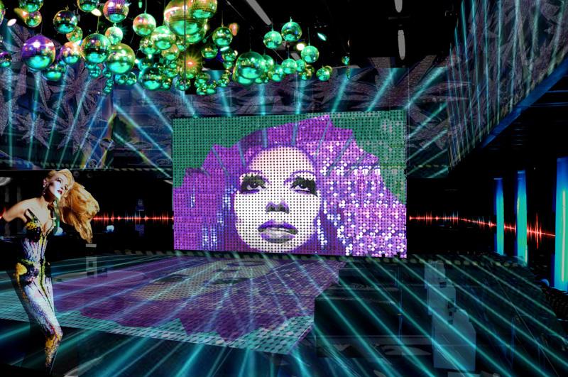 Neugestaltung Disko, Opernredoute