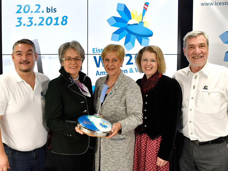 Pressekonferenz zur Eisstock-WM