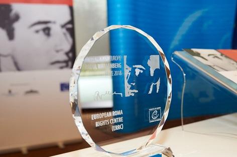 """Der Europarat zeichnet das """"Europäische Zentrum für Roma-Rechte"""" (European Roma Rights Center) in Budapest mit dem diesjährigen Raoul Wallenberg-Preis aus"""