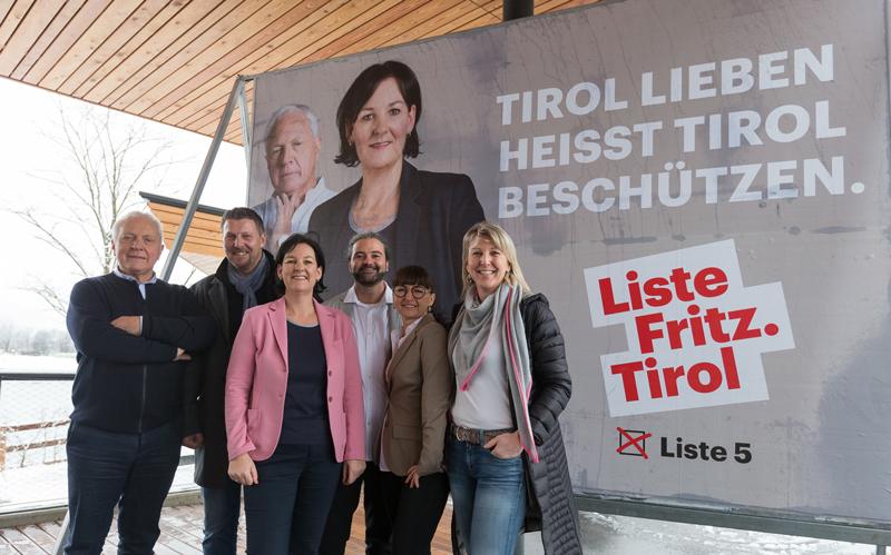 Wahlkampfauftakt der Liste Fritz